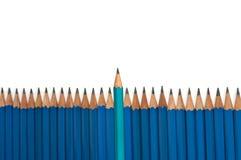 领导铅笔 免版税库存照片
