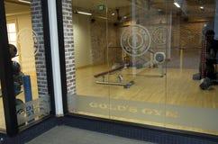 健身中心健身房室锻炼设备 图库摄影