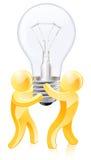 Концепция творческий думать Стоковое фото RF