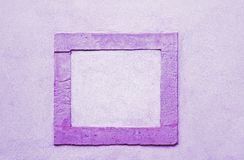紫色框架 免版税图库摄影