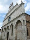 威岑扎中央寺院在意大利 免版税库存照片