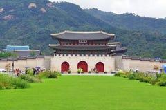 韩国联合国科教文组织世界遗产名录站点–景福宫 库存图片