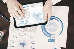 Концепция деловых документов Стоковое Изображение RF