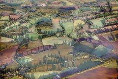 农村风景天线在汉堡附近的 免版税库存照片
