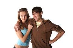 подросток пар Стоковая Фотография