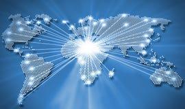 Παγκόσμιες συνδέσεις Στοκ Εικόνες