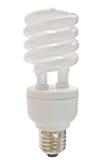 电灯泡紧凑荧光灯 免版税图库摄影