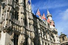 Здание муниципалитет Брюсселя Стоковые Изображения