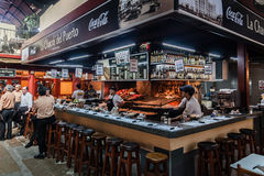 Δημόσια αγορά Μοντεβίδεο Ουρουγουάη Στοκ εικόνες με δικαίωμα ελεύθερης χρήσης