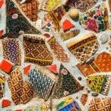 Красочная застекленная плитка Стоковое Фото