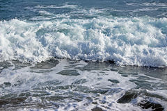 Пена морской воды Стоковая Фотография