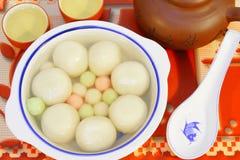 传统中国的食物 免版税库存图片