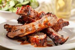 Μπριζόλες χοιρινού κρέατος Στοκ φωτογραφία με δικαίωμα ελεύθερης χρήσης