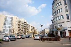 新的公寓楼 免版税库存照片
