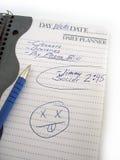 繁忙的日 免版税库存照片