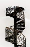 σπειροειδής σκάλα Στοκ εικόνες με δικαίωμα ελεύθερης χρήσης