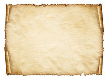 移动老纸板料,葡萄酒年迈的老纸。 免版税库存图片