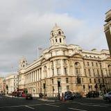 老战争办公室,国防部,伦敦 免版税库存照片