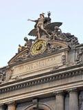 盛大中央终端门面,纽约。 免版税图库摄影