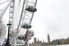 伦敦眼 免版税库存图片