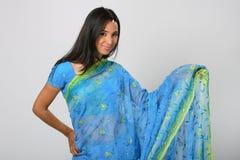 女孩印地安人 免版税库存照片