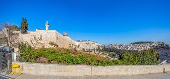西部墙壁广场,圣殿山,耶路撒冷 免版税库存图片