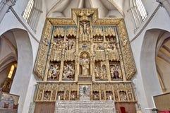 圣巴勃罗教会在萨瓦格萨,西班牙 免版税库存照片