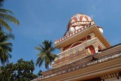 寺庙在果阿,印度 免版税库存图片