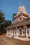 寺庙在果阿,印度 免版税图库摄影