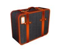旅行手提箱例证,减速火箭葡萄酒行李 免版税图库摄影