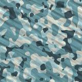 Текстура камуфлирования безшовная Стоковое фото RF