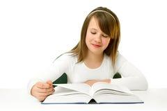 女小学生 免版税库存图片