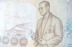 Τραπεζογραμμάτιο βασιλιάδων φωτογράφων, Ταϊλάνδη Στοκ Εικόνες