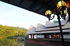 Плавая ресторан Стоковые Фотографии RF