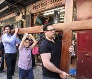 基督受难日在耶路撒冷 免版税图库摄影