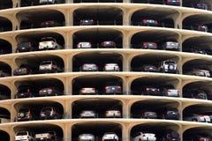 χώρος στάθμευσης γκαράζ Στοκ Φωτογραφία