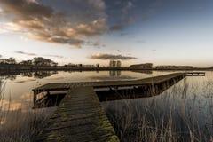 Χρώματα του ηλιοβασιλέματος Στοκ εικόνες με δικαίωμα ελεύθερης χρήσης