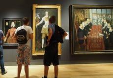 全国画象画廊,伦敦 免版税库存图片