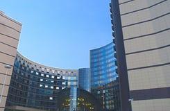 Современный экстерьер здания гостиницы Стоковое Изображение