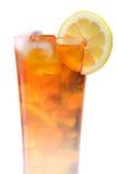 被冰的茶玻璃 免版税库存图片