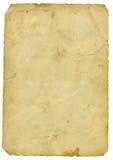 παλαιό έγγραφο Στοκ Εικόνα