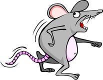 担心的老鼠 免版税库存照片