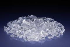 未割减水晶的金刚石 库存照片