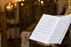 Βιβλίο τραγουδιού Στοκ Εικόνες