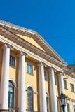 斯莫尔尼宫学院 免版税库存图片