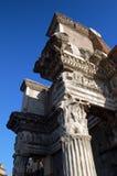 罗马的列 图库摄影