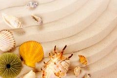 закрепляя изолированное море путя обстреливает белизну Стоковая Фотография RF