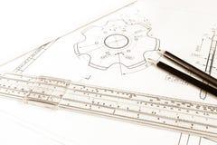 Εργαλείο σχεδίων Στοκ Εικόνες