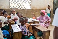 非洲学生 免版税库存图片
