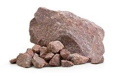 花岗岩石头,岩石 图库摄影